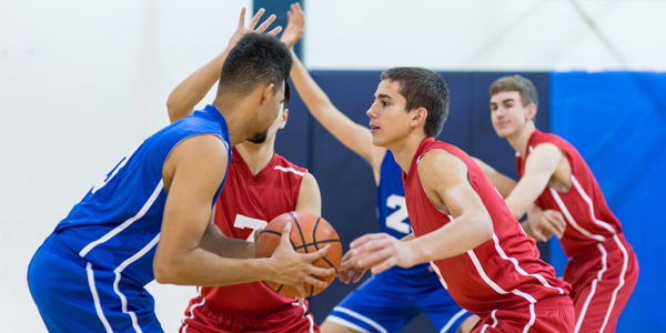 High-intensity sports, such as basketball, increase risk of sudden cardiac arrest among athletes with a family history of hypertrophic cardiomyopathy.