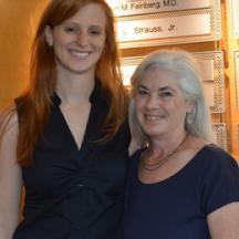 Giuliana Repetti and Dr. Jil C. Tardiff