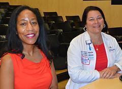 Khadijah Breathett, MD, MS and Nancy K. Sweitzer, MD, PhD