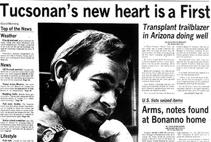 Jack Copeland, MD, was the cardiothoracic surgeon who established the heart transplant program at the University of Arizona - the 6th heart transplant center in the U.S. at the time.