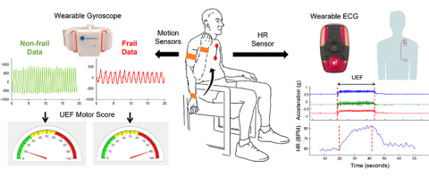 Sensor patches help measure frailty in patients with advanced heart disease.