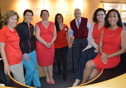 Go Red For Women - Jennifer Bunger, Sophia Airhart, Nancy Sweitzer, Sarah Salce, Frank Marcus, Angelica Lentner, Khadijah Breathett