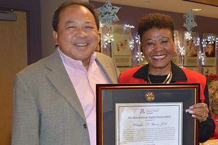 John Fung with Wanda F. Moore,
