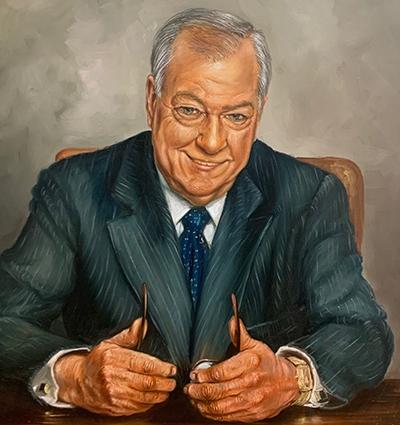 Lewis Weaks portrait