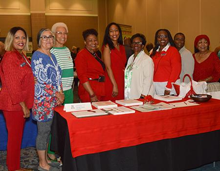 Members of the Minority Outreach Program support clinical research and share heart health information in the community.