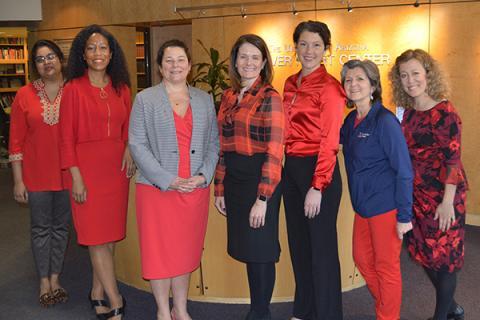 Preethi William, MD, Khadijah Breathett, MD, MS, Nancy Sweitzer, MD, PhD, Elizabeth Juneman, MD, Sophia Airhart, MD, Katie Maass and Jennifer Bunger