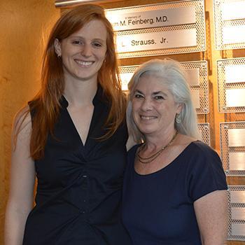 Giuliana Repetti, MD, with Jil C. Tardiff, MD, PhD