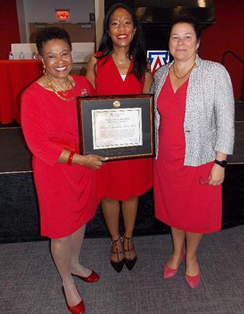 Wanda Moore, Khadijah Breathett, Nancy Sweitzer